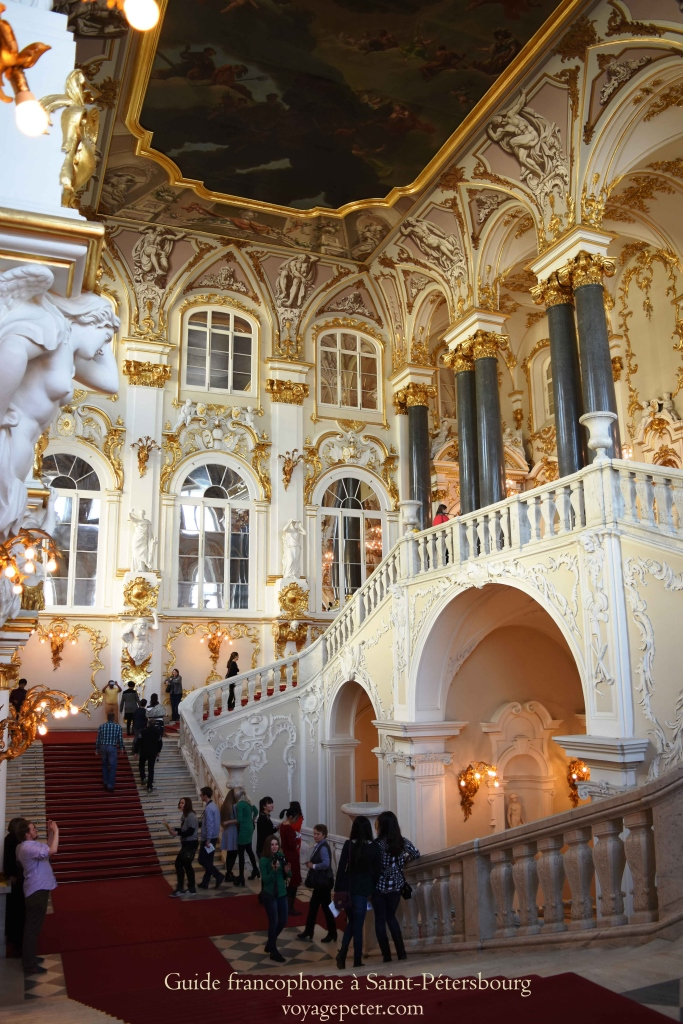 guide francophone st petersbourg russie