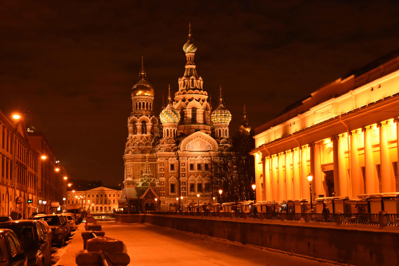 Bienvenue à Saint-Pétersbourg